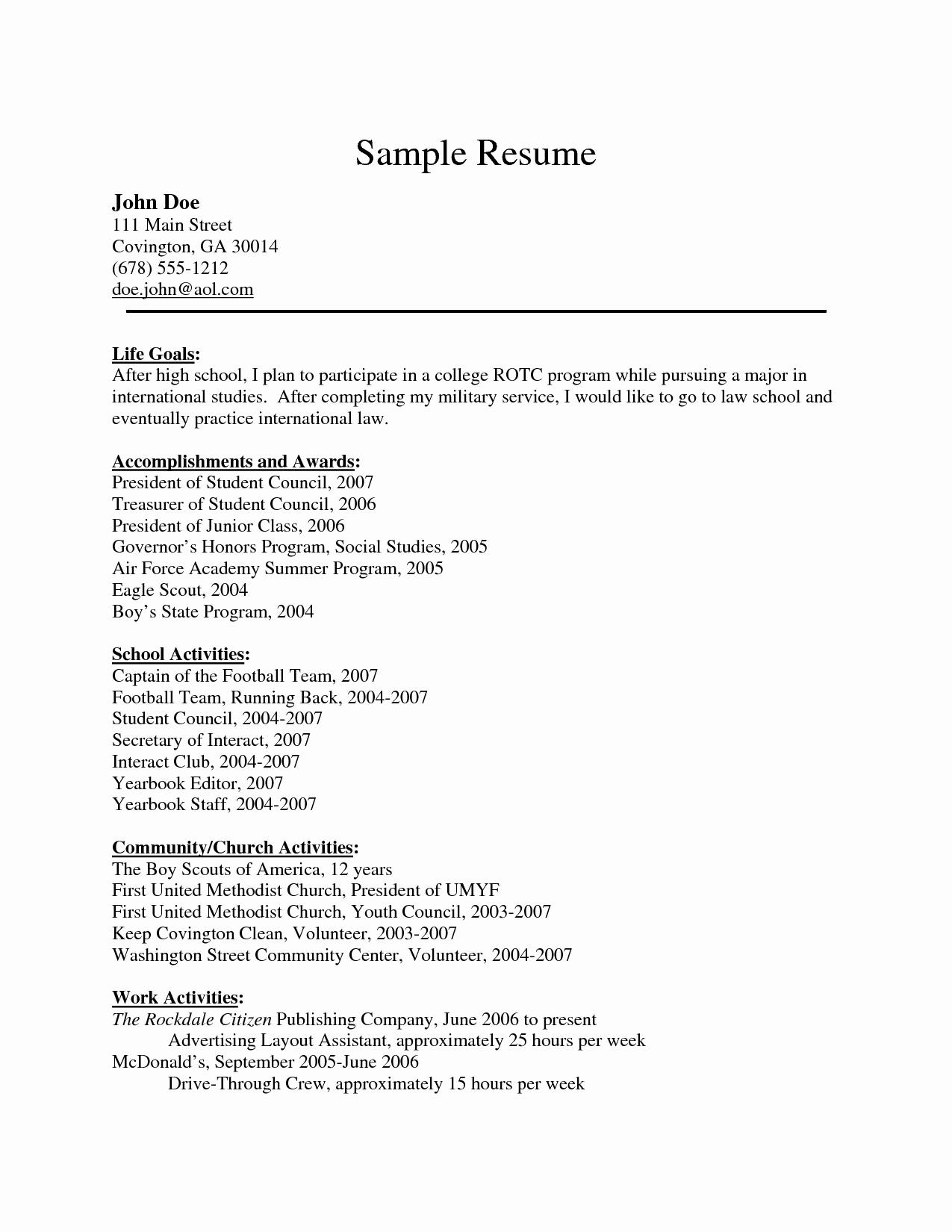 11 Cool Mcdonalds Crew Member Job Description For Resume for Ideas