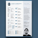 12 Great Indesign Resume Template Free for Images