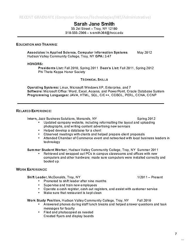 12 Inspirational Associate Degree Resume Sample with Pictures