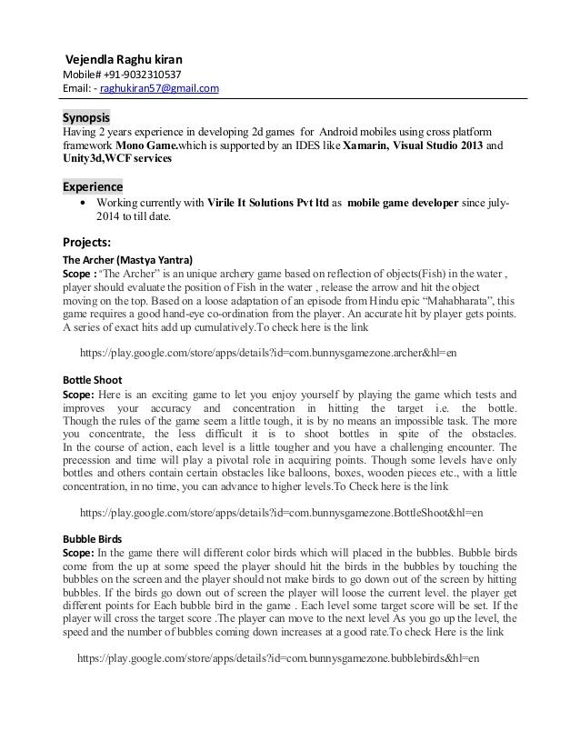 12 Top Xamarin Developer Resume Sample by Design
