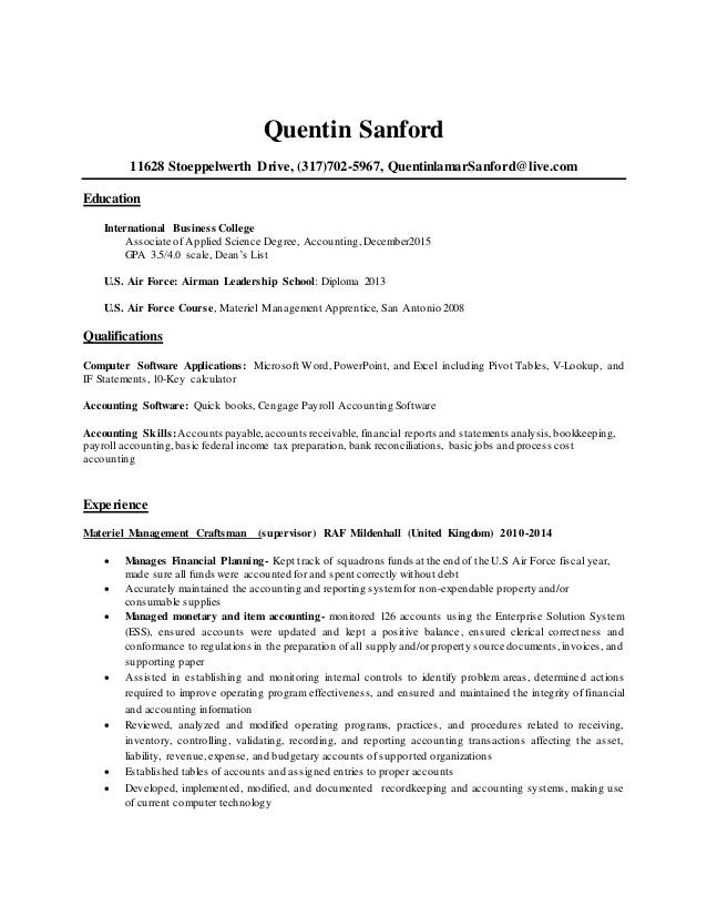 13 Beautiful Associate Degree Resume Sample by Images