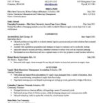 13 Lovely Fraternity Resume Template with Images