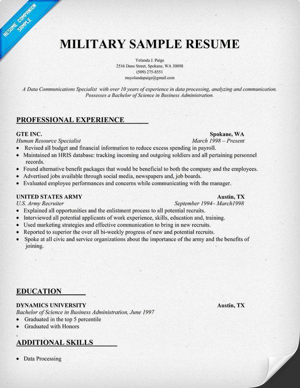 14 Cool Military Resume Template Microsoft Word for Design