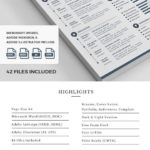 14 Nice Infographic Resume Template Word Free Download by Pictures