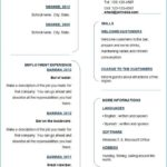 15 Stunning Wordpad Resume Template by Design