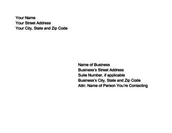 16 Fresh Address On Resume for Pics