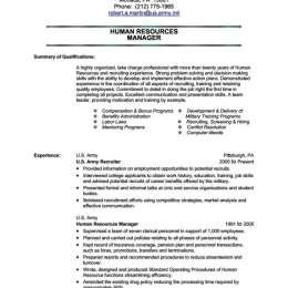 16 Great Military Resume Template Microsoft Word for Ideas