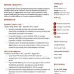18 Excellent Group Resume Template for Design