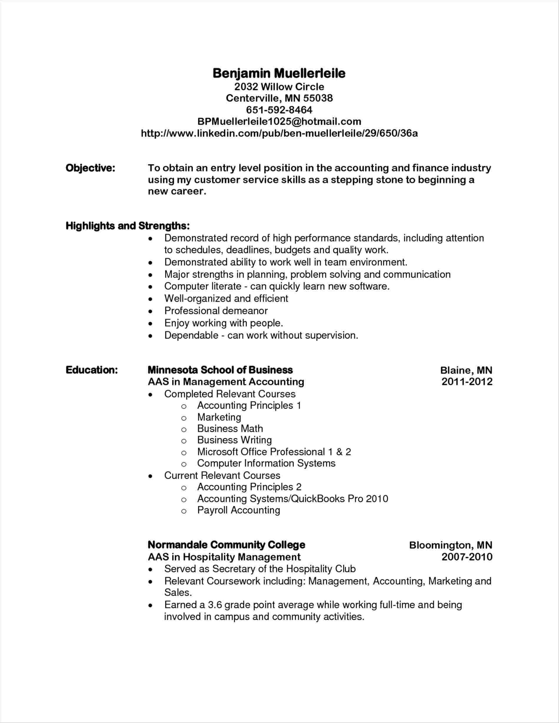 18 Top General Resume Objective Examples for Ideas