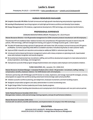 19 Top Sample Hr Generalist Resume for Images