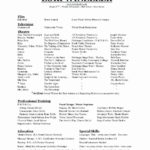 21 Beautiful Exotic Dancer Resume Example for Gallery