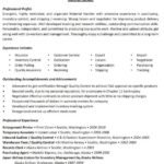 21 New Material Handler Resume by Ideas