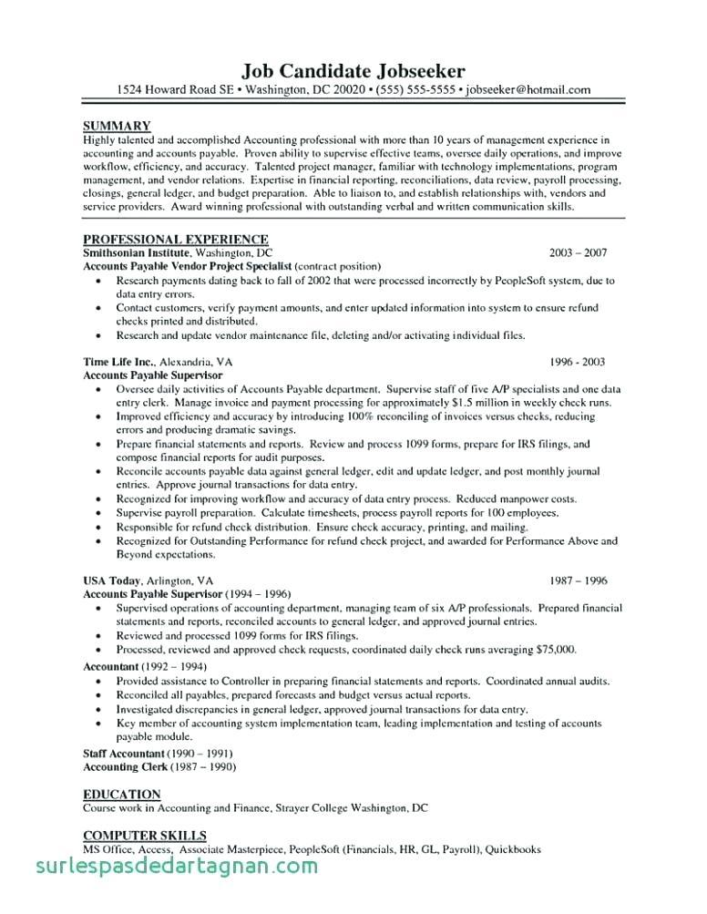 22 Best Payroll Specialist Resume for Ideas