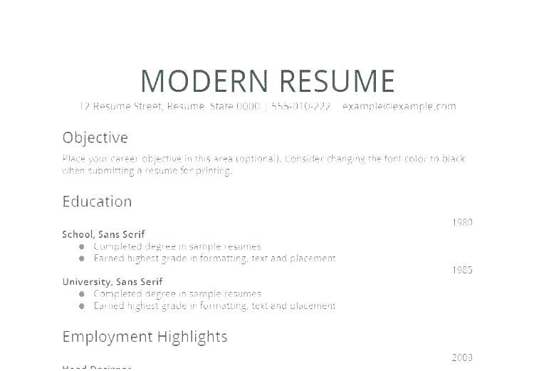 22 Fresh General Resume Objective Examples by Gallery