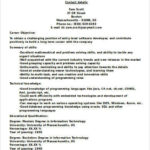22 Inspirational Entry Level Software Engineer Resume for Graphics