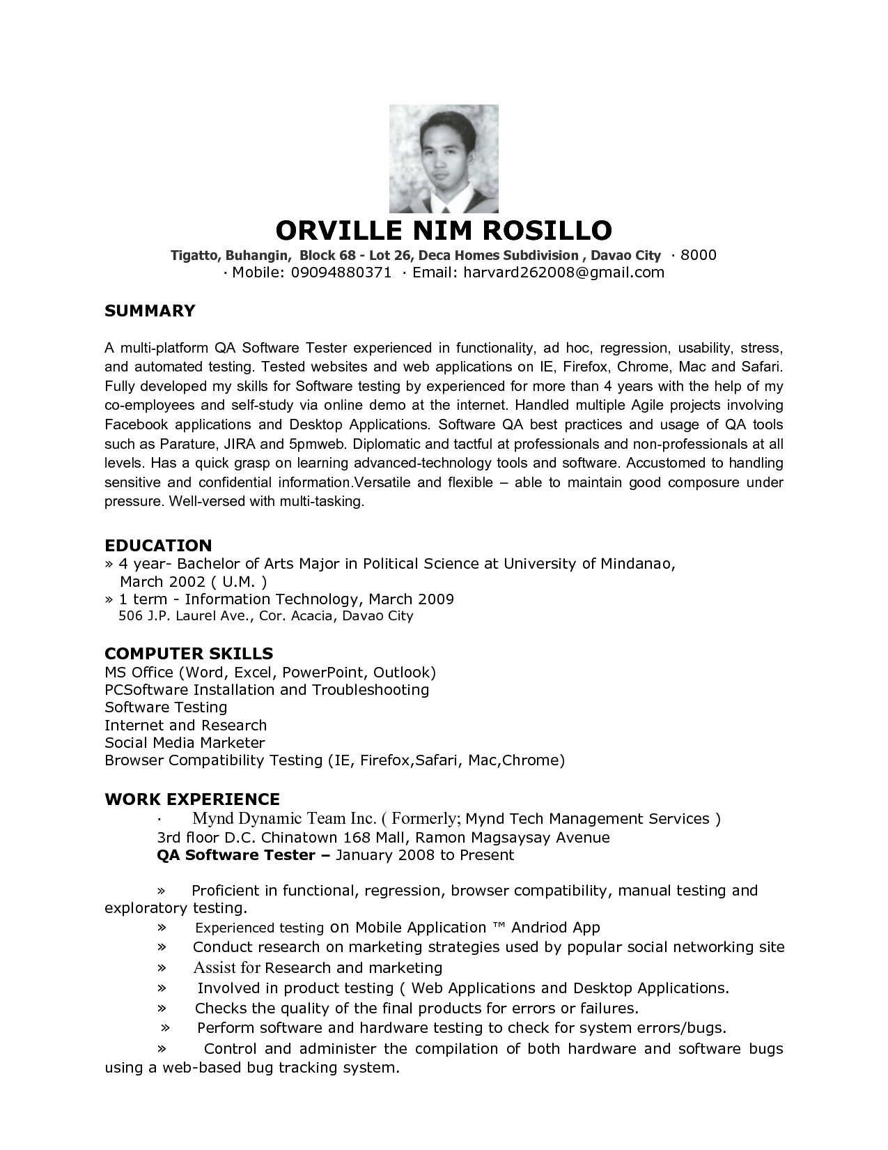 23 Fresh Entry Level Software Engineer Resume with Design