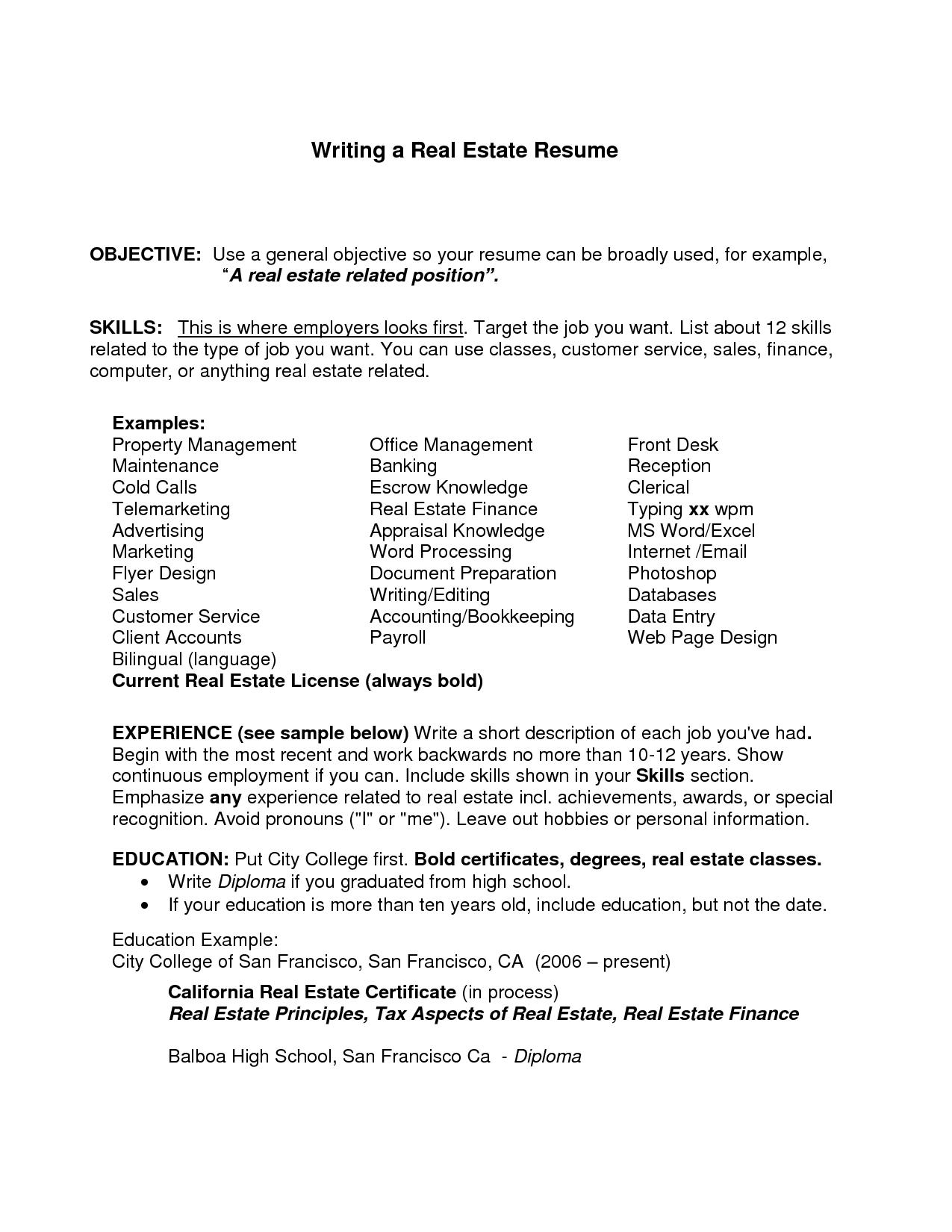 24 Best General Resume Objective Examples for Ideas