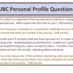 26 Cool Ubc Personal Profile Samples by Graphics