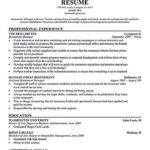 26 Fresh Restaurant Manager Resume Samples Pdf with Ideas