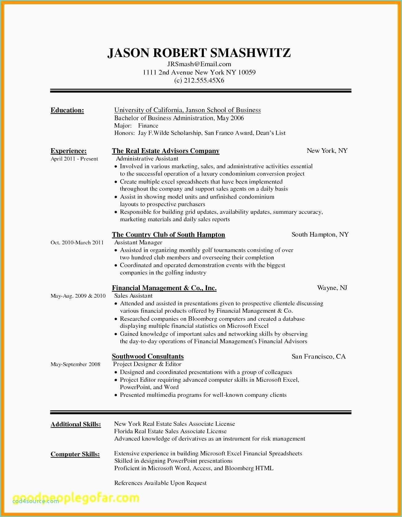 27 Beautiful Military Resume Template Microsoft Word with Gallery