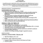 27 Excellent Truck Driver Resume for Pics