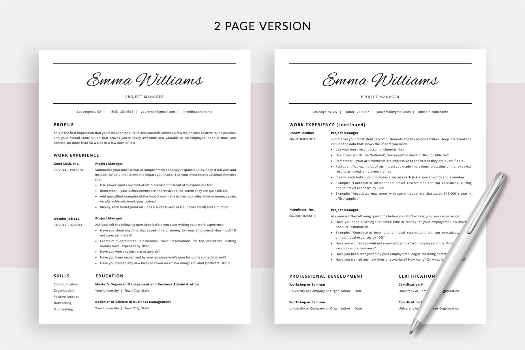 27 Stunning Dating Resume Template for Images