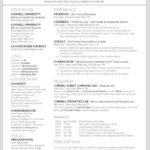 28 New Two Column Resume Template with Pics