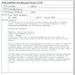 30 Excellent What Does Parse Resume Mean by Design