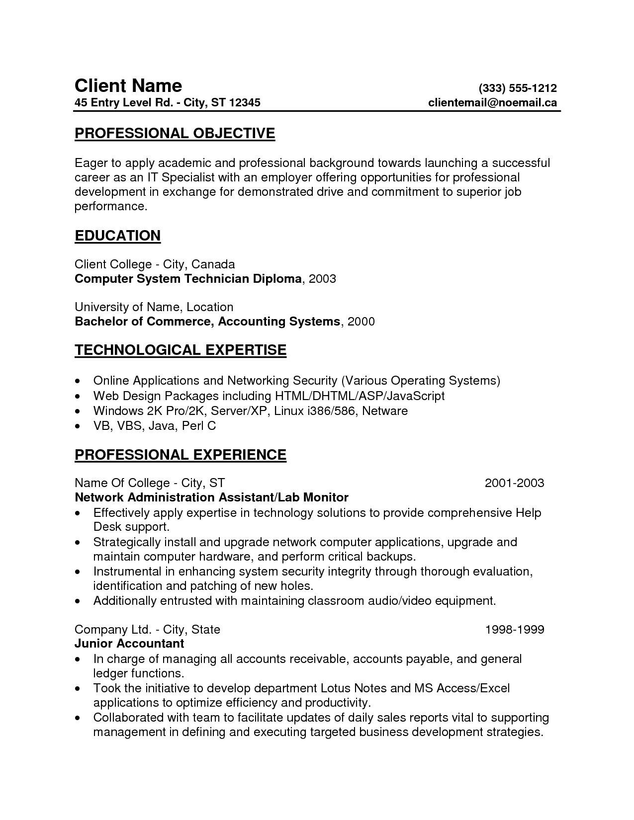 30 Nice Accounts Receivable Resume Objective by Images