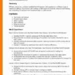 31 Beautiful Forklift Operator Resume with Gallery