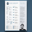 32 Fresh Adobe Illustrator Resume Template by Images