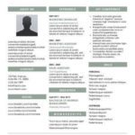 32 Inspirational Two Column Resume Template with Images