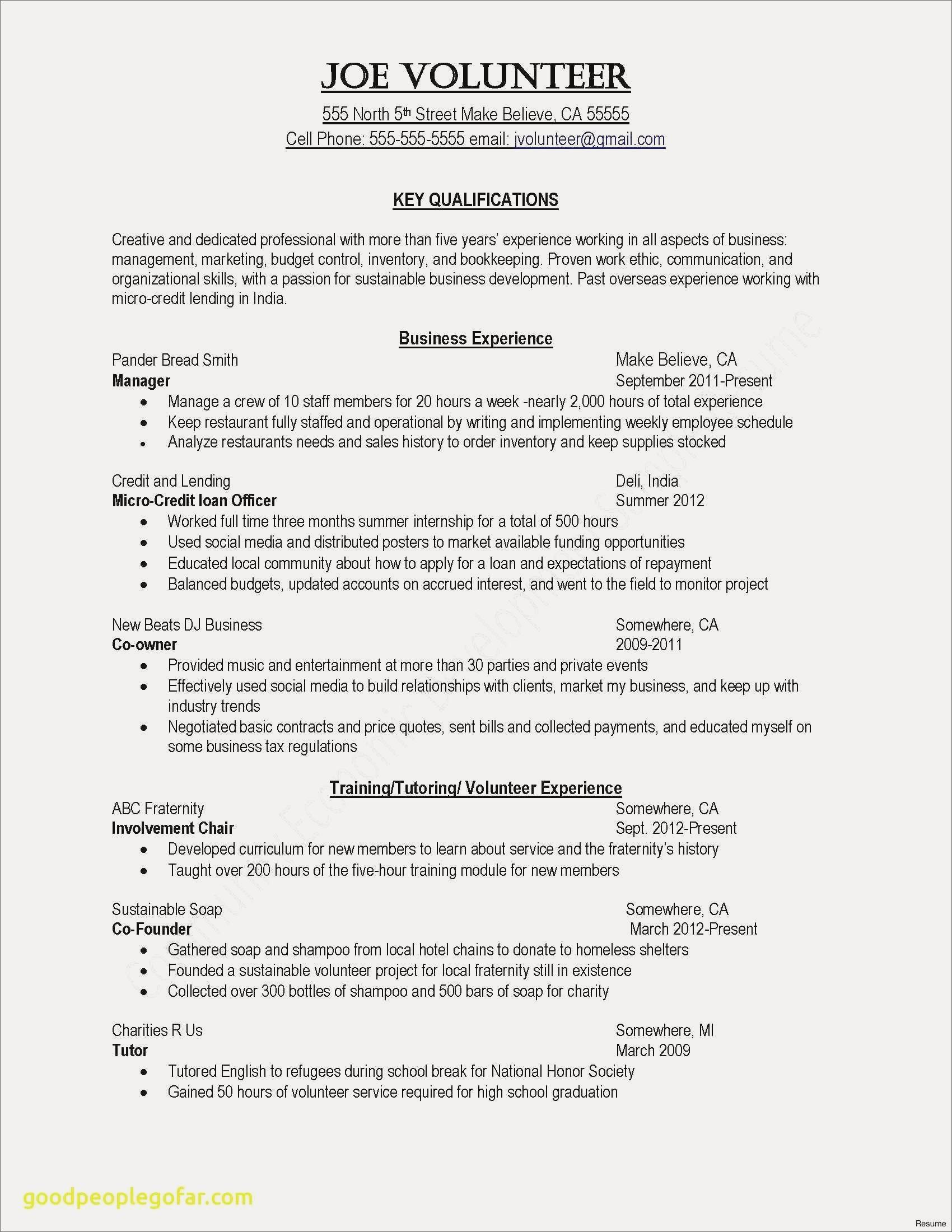 33 Best General Resume Objective Examples for Pictures