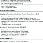 34 Awesome Concierge Job Description Resume with Design
