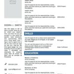 34 Cool Wordpad Resume Template by Gallery