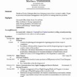 34 Nice Music Producer Resume for Pictures