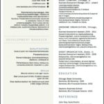 36 Awesome Two Column Resume Template with Ideas
