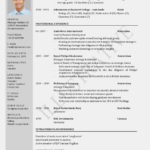 36 Cool Two Column Resume Template with Ideas