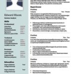 38 Inspirational Two Column Resume Template for Gallery