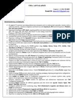 39 Inspirational Devops Sample Resume Pdf by Gallery