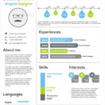 39 Nice Infographic Resume Template Word Free Download by Images