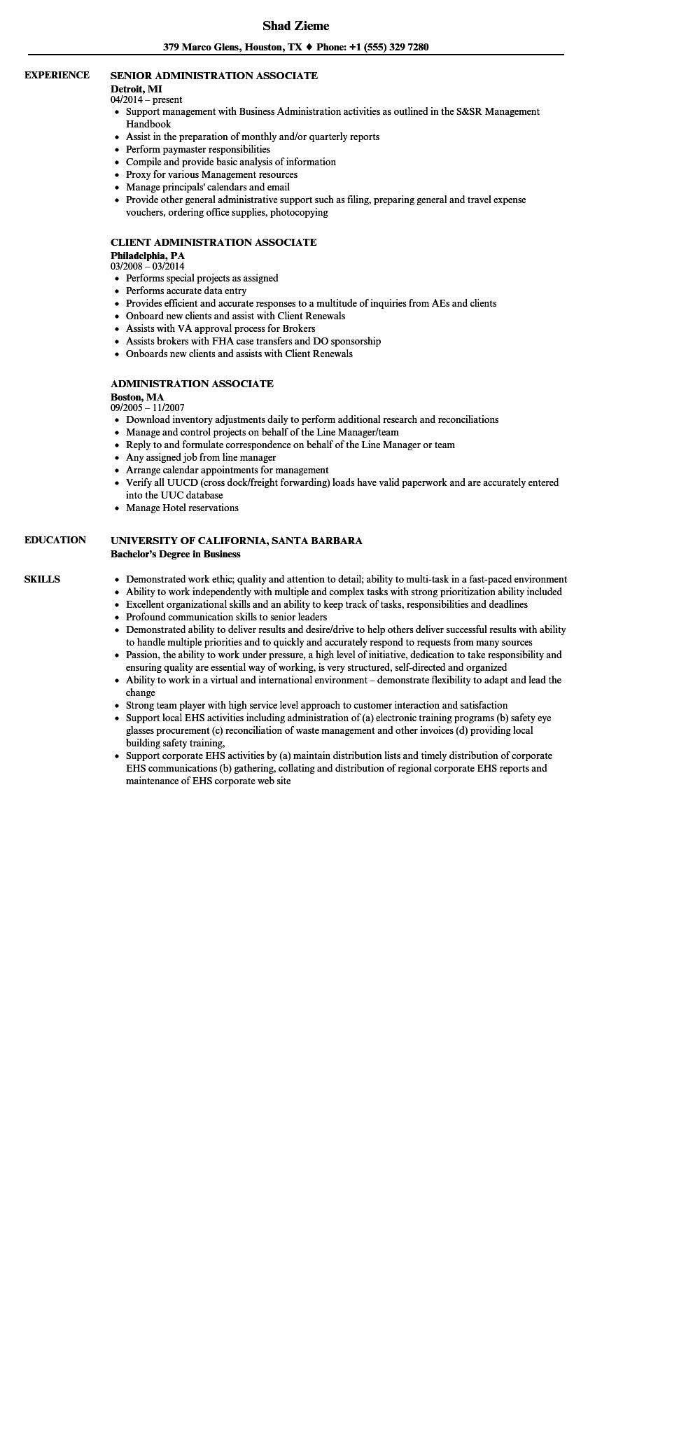 40 Awesome Associate Degree Resume Sample by Ideas