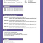 40 Great Wordpad Resume Template for Ideas