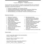 41 Great Music Producer Resume for Ideas