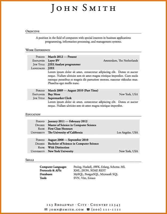 First Time Resume With No Experience Samples Www Achance2talk Com