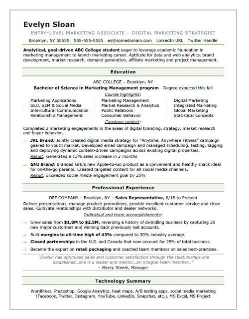 42 Great Associate Degree Resume Sample with Graphics