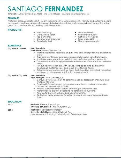 45 Fresh Associate Degree Resume Sample with Images