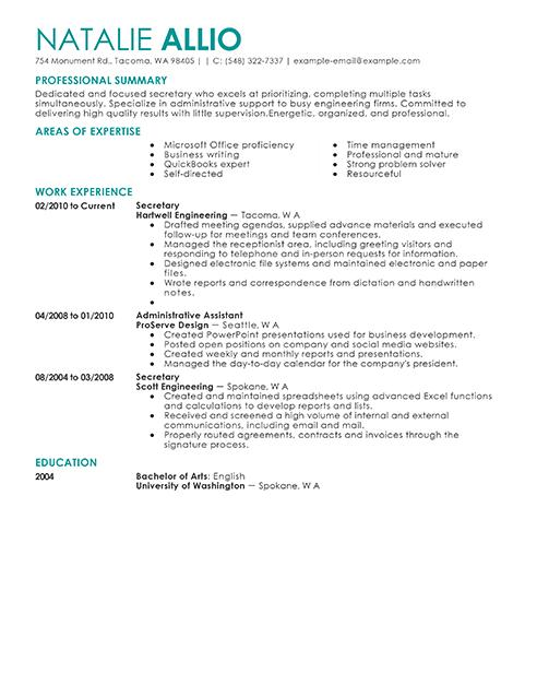 49 Stunning Handwritten Resume Examples for Gallery