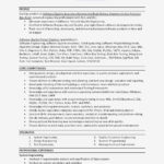 50 Lovely Senior Systems Engineer Resume Sample by Gallery