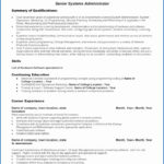 50 New Senior Systems Engineer Resume Sample with Design
